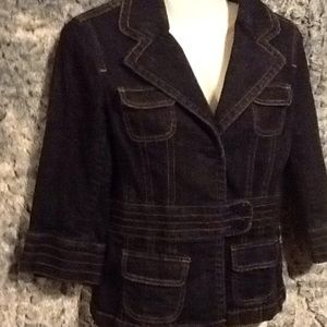 Ann Taylor Women's Denim Jacket size 0